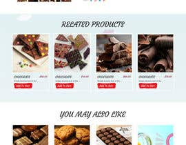 webmastersud tarafından Design creative website mock up for a snacks shop için no 51