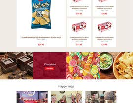 nextdesign2007 tarafından Design creative website mock up for a snacks shop için no 29