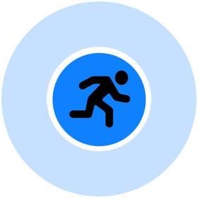 #10 for Design an Icon for PointRun (iPhone App) by sharpBD