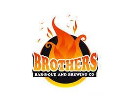 nº 11 pour Startup BBQ brewpub needs a cool logo par Moon0322