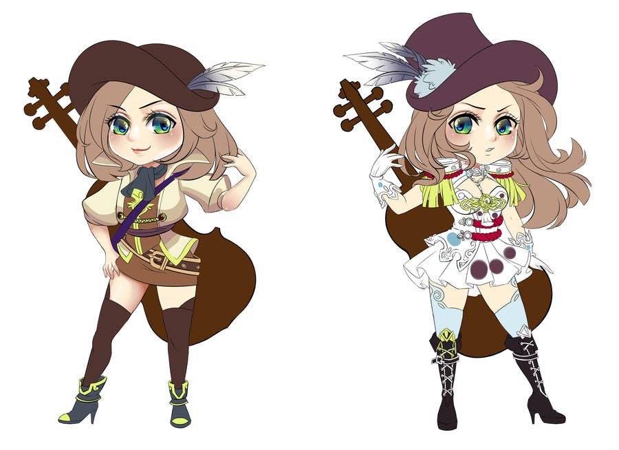 #68 for Cartoon Style Game Character Illustration Contest by redsunvn
