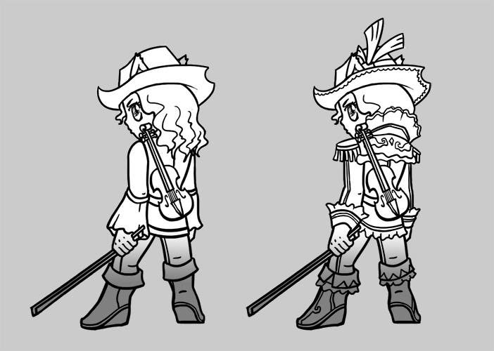 #12 for Cartoon Style Game Character Illustration Contest by elderwand86