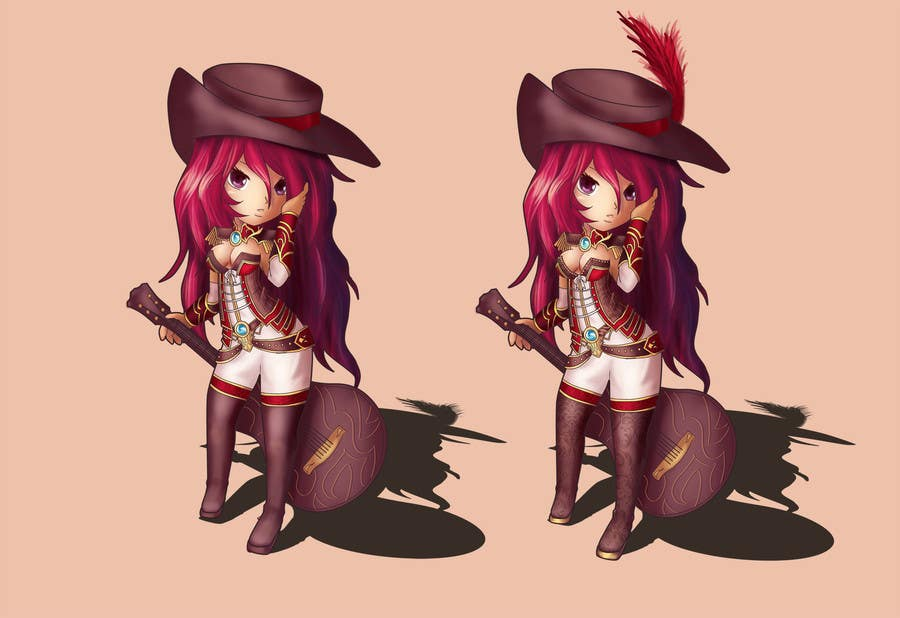 #71 for Cartoon Style Game Character Illustration Contest by chubi91