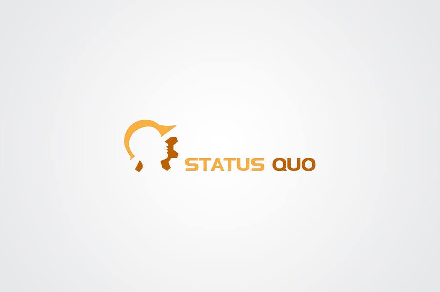 #82 for Design a Logo for Status Quo by EzzDesigner
