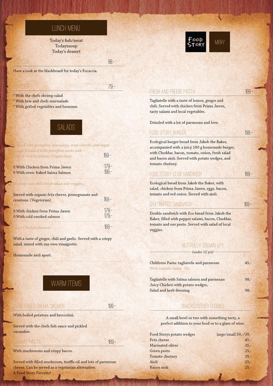 Bài tham dự cuộc thi #                                        34                                      cho                                         Create a background for a restaurant menu.