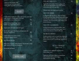 #26 for Create a background for a restaurant menu. by majajni