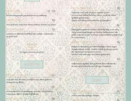 #38 for Create a background for a restaurant menu. af cherkezian