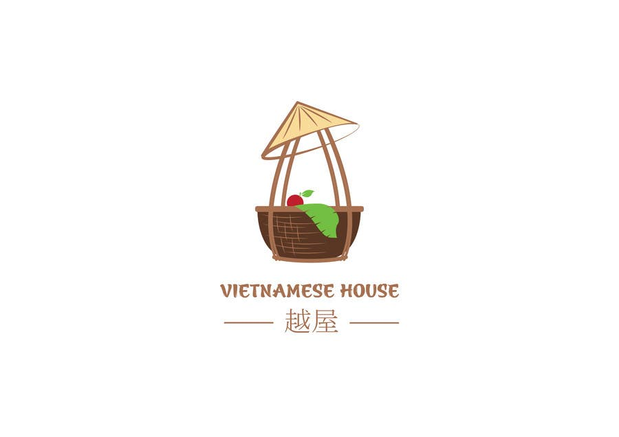 "#66 for Design a Logo for Vietnamese restaurant named ""越屋 Vietnamese House"" by raywind"