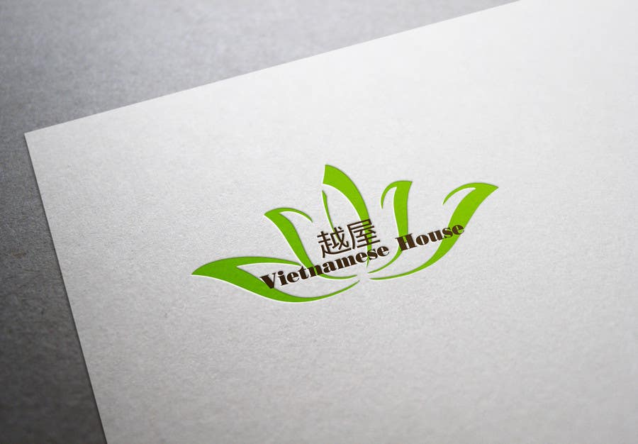 "#78 for Design a Logo for Vietnamese restaurant named ""越屋 Vietnamese House"" by LogoFreelancers"