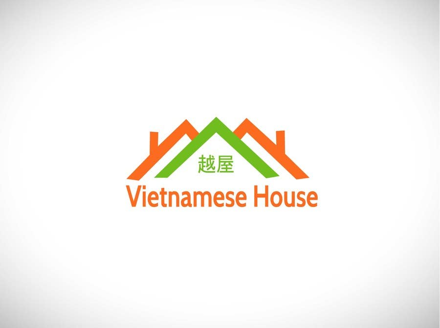 "#92 for Design a Logo for Vietnamese restaurant named ""越屋 Vietnamese House"" by tfdlemon"