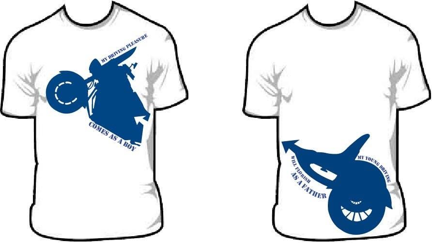 Kilpailutyö #185 kilpailussa T-shirt Design for Razors and Diapers