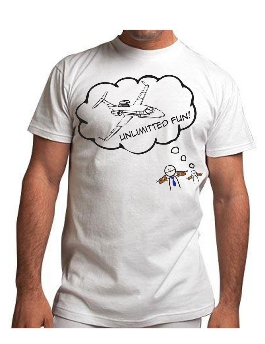 Kilpailutyö #187 kilpailussa T-shirt Design for Razors and Diapers