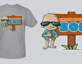 #133 untuk T-shirt Design for Razors and Diapers oleh xcerlow