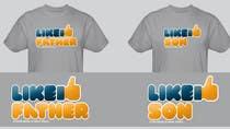 Graphic Design Kilpailutyö #101 kilpailuun T-shirt Design for Razors and Diapers