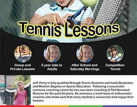 #20 para Design a Flyer for Tennis Coaching por krewrstudio