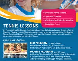 #23 para Design a Flyer for Tennis Coaching por mydZnecoz