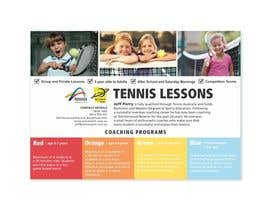 #34 para Design a Flyer for Tennis Coaching por ordinaryocean