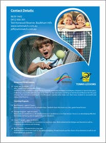 #10 para Design a Flyer for Tennis Coaching por pvcomp