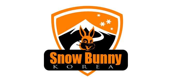 Penyertaan Peraduan #                                        5                                      untuk                                         Design a Logo for Snow Bunny Korea