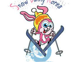 nº 3 pour Design a Logo for Snow Bunny Korea par MunirAhmedJaved