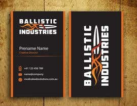 nº 62 pour Business Cards for a Firearms Business - Ballistic Industries par mamun313