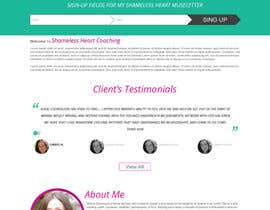 #3 cho Design a Website Mockup for Shameless Heart Coaching bởi crystaleyes54