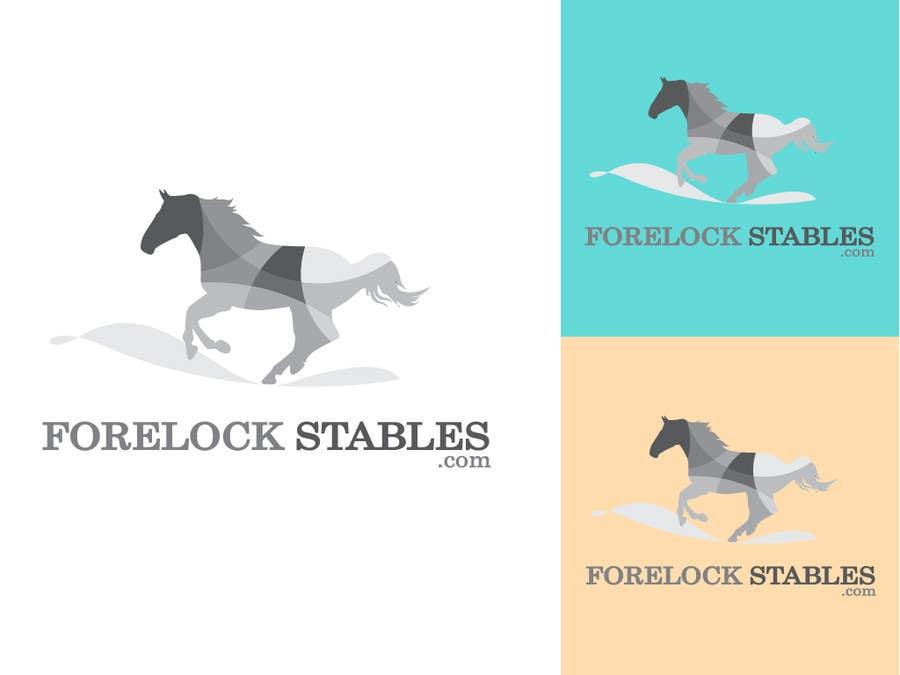 #86 for Design a Logo for ForelockStables.com by carlosbatt