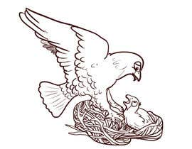#6 para Illustrating 3 pictures of an eagle baby por jang47