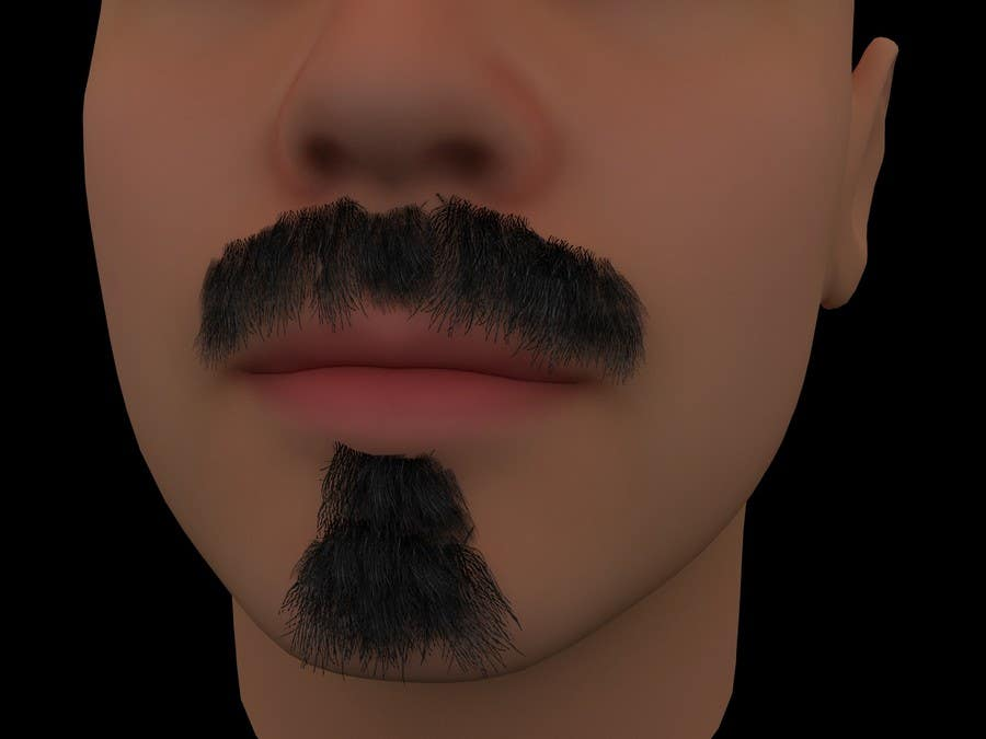 #44 for Create realistic 3D beard for interactive viewing by tj426