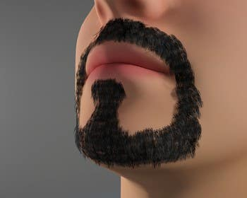 #43 for Create realistic 3D beard for interactive viewing by Bacvu