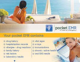 #56 para Flyer Design for Pocket EMR por Ollive