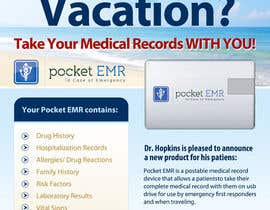 #33 for Flyer Design for Pocket EMR by zdenusik