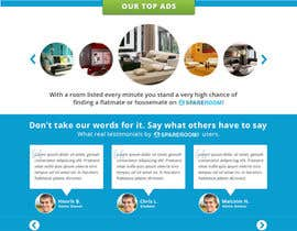 #25 para finalize a website home page design from mockup por Genshanks