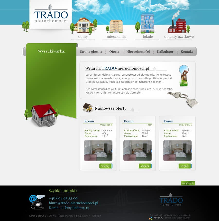 #23 for Joomla website for House or Property selling by gr4pl