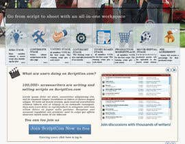 Nro 66 kilpailuun Design a Website Mockup käyttäjältä nupurghosh2