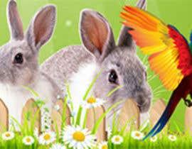 Nro 23 kilpailuun Top on the website of animals käyttäjältä Rightwaydesign