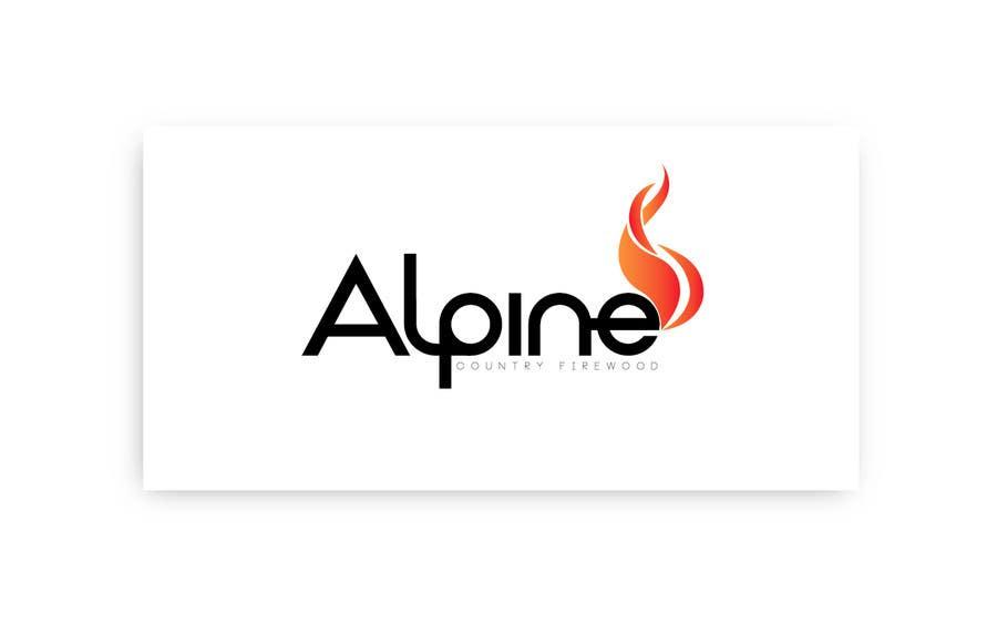 Kilpailutyö #170 kilpailussa Logo Design for Alpine Country Firewood