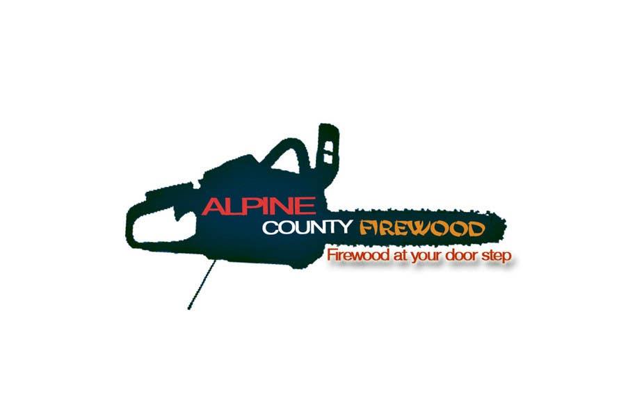 Kilpailutyö #4 kilpailussa Logo Design for Alpine Country Firewood