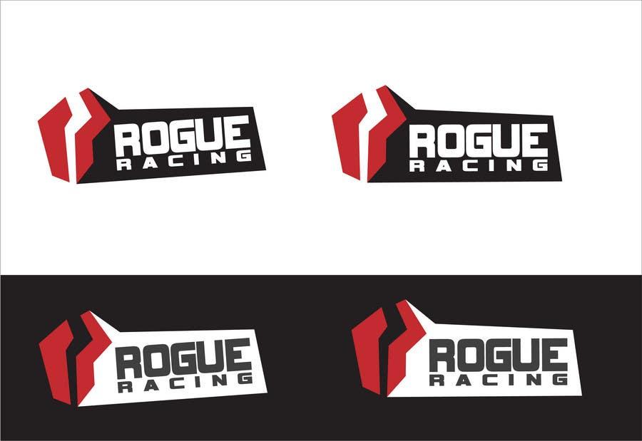 Kilpailutyö #153 kilpailussa Logo Design for Rogue Racing