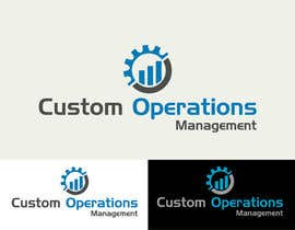billahdesign tarafından Design a Logo for a Software Service - 'Custom Operations Management / CustomOps' için no 63