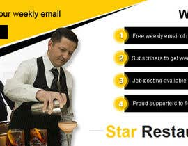 #12 for Design a Facebook landing page for Star Restaurant List Facebook page by mydZnecoz