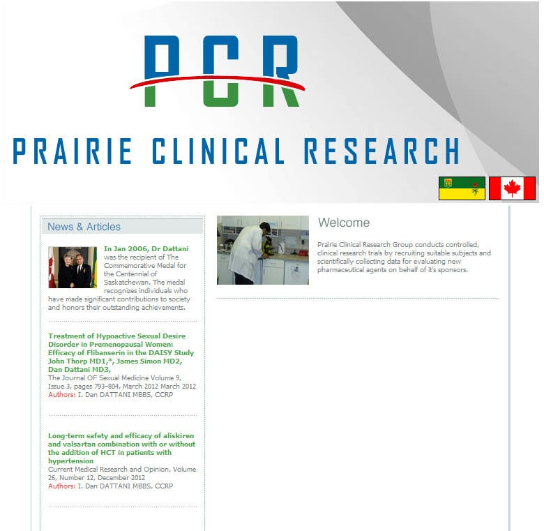 #5 for Design a Banner for my research website by rayw1986