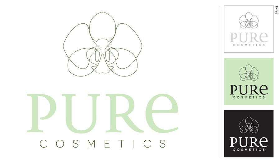 Bài tham dự cuộc thi #188 cho Branding Design for Pure Cosmetics / Need Long Term Graphic Artist Wanted