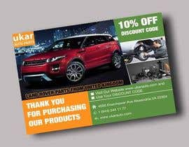 #65 for Design a Flyer for online Land Rover auto parts store. by stylishwork