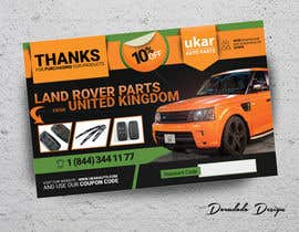 #55 for Design a Flyer for online Land Rover auto parts store. by doradodo