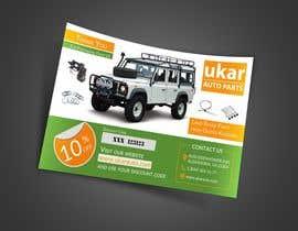 nuwantha2020 tarafından Design a Flyer for online Land Rover auto parts store. için no 66