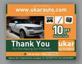 #67 for Design a Flyer for online Land Rover auto parts store. by Chandu87