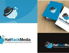 #40 for Design a Logo for Hat Rack Media af saimarehan