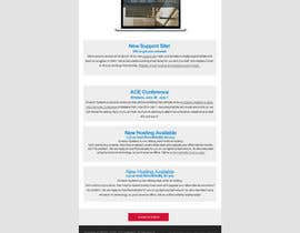 nº 9 pour Design 2 MailChimp responsive email templates: newsletter and release notes par Pixaart