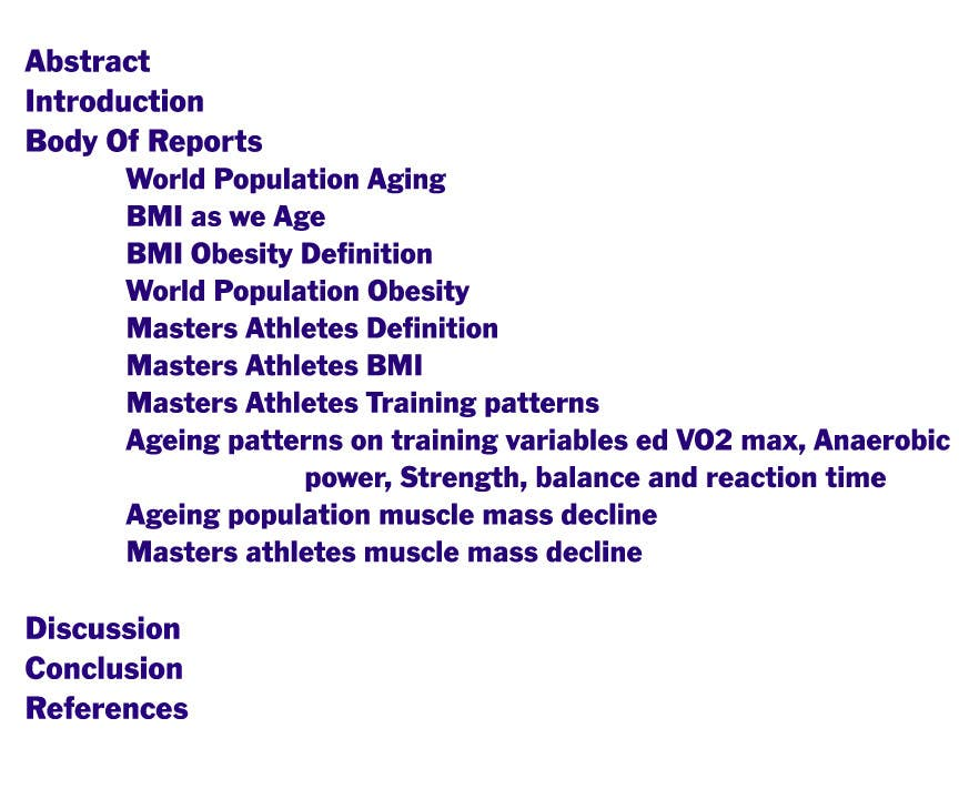 #29 for Academic Writing for Sports Science Journal by venkatbudarapu
